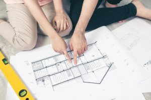 drafting plans for existing dwelling house for council
